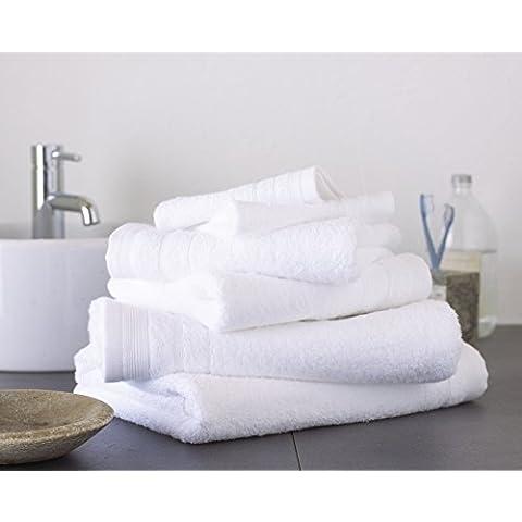 Gran nudo 100% algodón egipcio, 500g/m²–Pack de 2hojas de baño