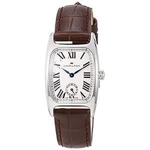 Hamilton H13321511 Boulton M – Reloj para Mujer, Esfera Blanca