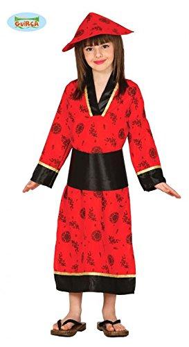 Disfraz de China roja infantil 5-6 años