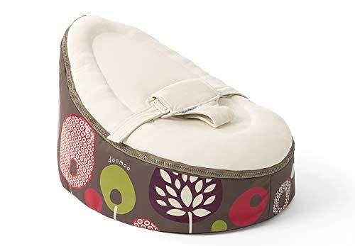 Sitjoy Baby-Sitzsack doomoo | Toxproof-Perlen Füllung | Tree Sand | Liegekissen – Lagerungskissen