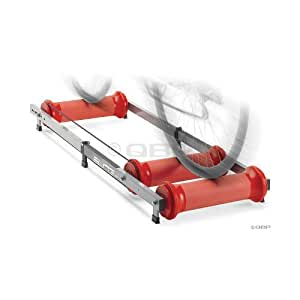 elite ghibli parabolic roller trainer support pour faire du v lo en int rieur argent rouge. Black Bedroom Furniture Sets. Home Design Ideas