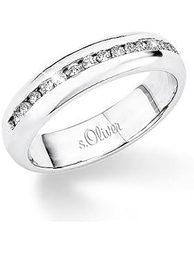 s.Oliver Damen-Ring Silber 925