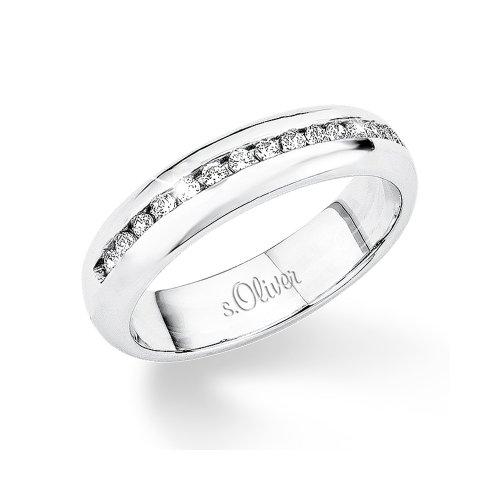 s.Oliver Damen-Ring Silber 925  Gr.52 400862