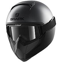 Shark casco integral VANCORE Street neón, negro, talla L, ...