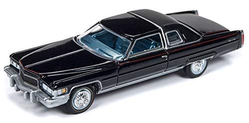 1976 Cadillac Coupe DeVille D`Elegance Black - Auto World 1:64 Elegance Coupe
