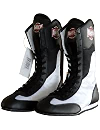 Amber Fight Gear FightMaxxe v1.0 Full Height Boxing Shoes, 8