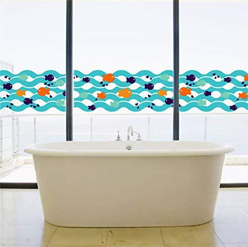 (Fyyanm Nemo Unterwasser Fisch Blase Wandaufkleber Decals Kindergarten Zimmer Badezimmer Küche Room Decor Dekoration Poster)