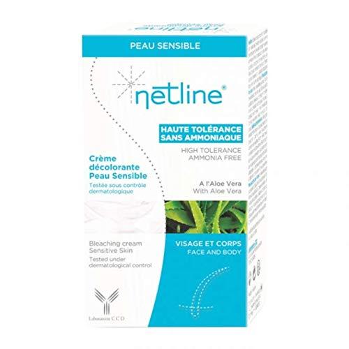 Netline Crème Décolorante pour Peau Sensible