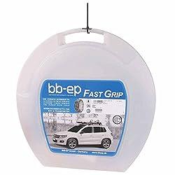 BB-EP Fast-Grip 16-225/75-16 - Die Robuste 16mm-Schneekette für die Reifengröße 225/75 R16 - TÜV, Ö-Norm (Made in Italy)