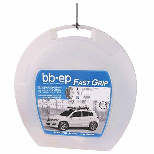 Preisvergleich Produktbild BB-EP Fast-Grip 16-225 / 65-17 - Die Robuste 16mm-Schneekette für die Reifengröße 225 / 65 R17 - TÜV,  Ö-Norm (Made in Italy)