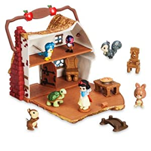 Disney Snow White Micro Playset, Disney Animators' Collection Littles