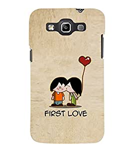 EPICCASE cute love Mobile Back Case Cover For Samsung Galaxy Quattro (Designer Case)
