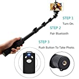 Bluetooth Selfie Stick Iphones Review and Comparison