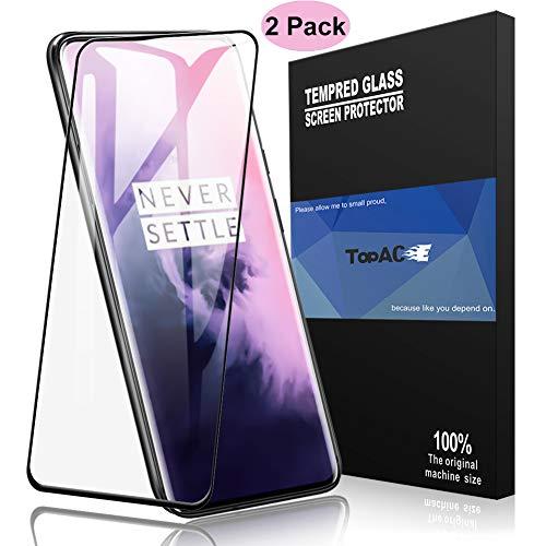 TopACE Vetro Temperato Oneplus 7 PRO,HD-Clear 9H Resistenza Anti-Olio Resistente ai Graffi Screen Protector Schermo in Pellicola Protettiva per Oneplus 7 PRO(Transparent)