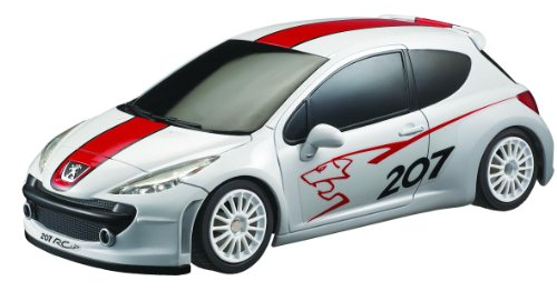 auldey-peugeot-207-rcup-140-scale-car-white