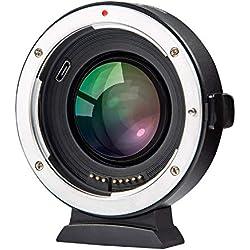 Viltrox EF-FX2 Adaptateur de Mise au Point Automatique 0,71 x Réducteur de Vitesse pour Canon EF Mount Objectif vers Fuji X-Mount Mirrorless Camera X-T3 X-T2 X-T20 X-T10 X-T100 X-PRO2 X-E3 X-A20 X-A5