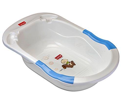 Luvlap Baby Bubble Bathtub with Anti Slip (Blue)