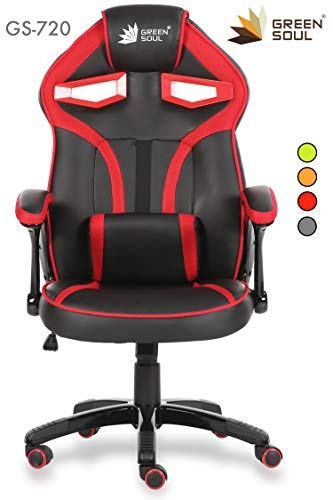 Green Soul Alien Series PU Leather and Mesh Gaming/Desk Chair...