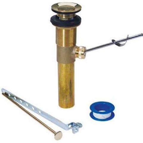 PLUMB SHOP DIV BRASSCRAFT 1-1/4-Inch Polished Brass Lavatory Drain Pop