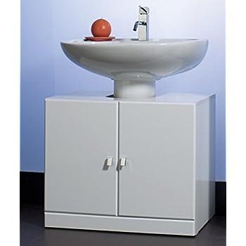 Base copri colonna colore bianco mobile bagno copricolonna for Colonna mobile bagno