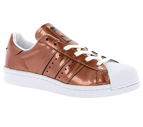 Adidas Womens Superstar Synthetic Trainers Bronze