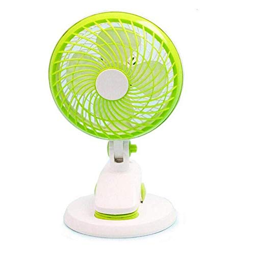 TDCQQ Generic Electrical Oscillating Pedestal Stand-Ventilator Mini Fan Büro-Schlafsaal-Raum Desktop-Bett-Ordner-Lüfter, USB-Oszillations-Sockel Elektrische Kühlung Ruhiger Betrieb, Oszillierend, Desk -