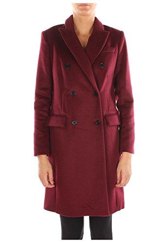 Cappotti Michael Kors Donna Lana Bordeaux MF52HBM0TJMERLOT Rosso 6 US - 44 IT