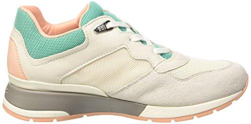 Geox Damen D Shahira B Sneaker Grün - Vert (C0868)