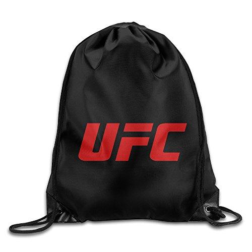 UFC Ultimate Fighting Championship Cool Sporttasche Reise Kordelzug Rucksack, weiß,...