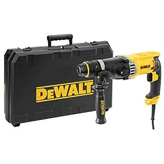 DEWALT D25144K-QS – Martillo ligero combinado 900W, 3 julios, 0-5.350 ipm