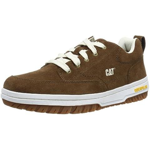 Cat Footwear DECADE - Caña baja de cuero hombre