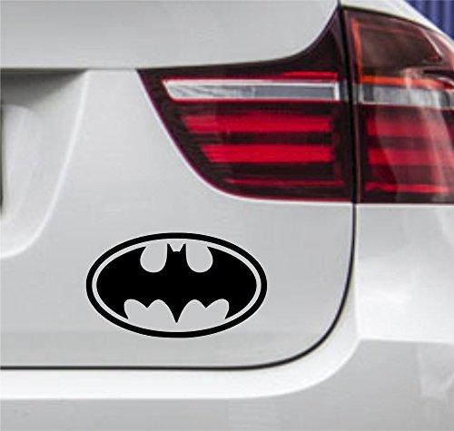wDesigns Autoaufkleber Batman Joker Dark Night Rund Tuning Aufkleber Sticker 12x7cm
