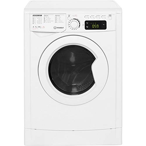 Indesit EWDE7145W B Rated Freestanding Washer Dryer - White
