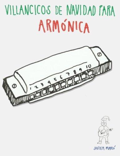 Villancicos de Navidad para Armónica: Canciones en Partitura & Tablatura de Armónica