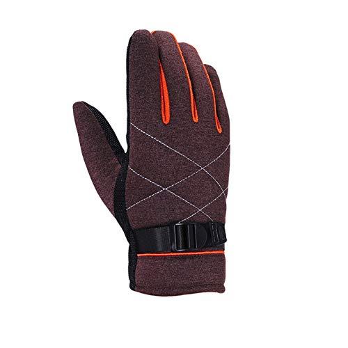 (Beydodo Wasserdicht Handschuhe Herren Winter Handschuhe Arbeit Braun Outdoor Handschuhe Wasserdicht)