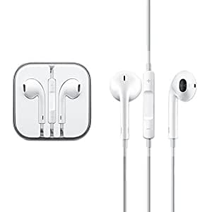 OEM Lenovo A Plus Earphone / Handsfree Headset with Microphone, Volume Control, and Call Answer End Button- White