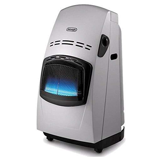 De'longhi VBF - Estufa de gas, 4200 W, sistema variable de control de la llama, doble sistema seguridad...