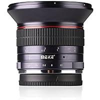 Meike MK 12 mm f/2.8 Weitwinkel Manueller Fokus Objektiv für Sony EMOUNT spiegellose Kamera mit APS-C … (Sony Emount)