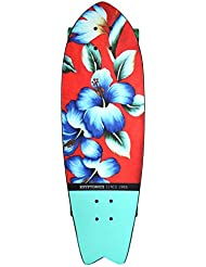 "Kryptonics Skateboard KRYPTONICS Cruiser - Calif. Series - 29"" - Vintage Floral - Skateboard, color fantasía, talla 71 cm"