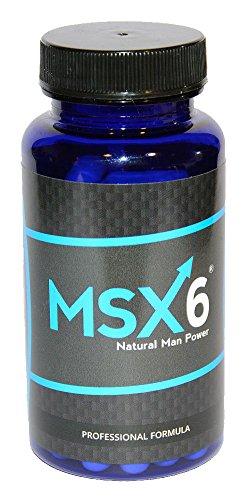 MSX6 natürliches Potenzmittel, 60 Kapseln / Potenzpillen auch rezeptfrei erhältich in der Apotheke