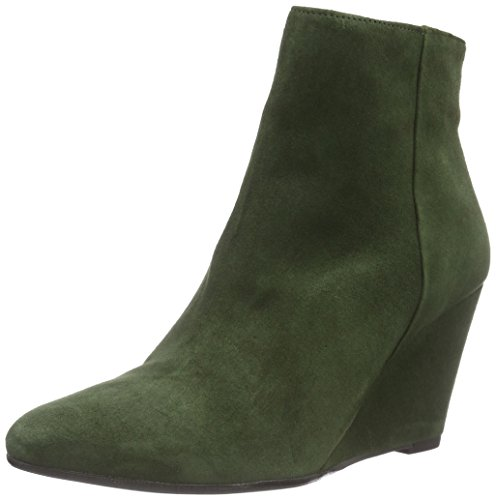 MENTOR Mentor Damen Kurzschaft Stiefel Grün (Green Suede)