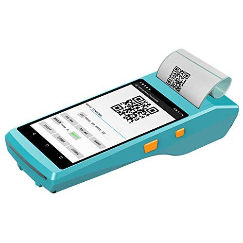 LSXX De Mano TPV NFC Android6.0 1D 2D QR Lector de código de Barras con 3G WiFi Bluetooth Incorporado...