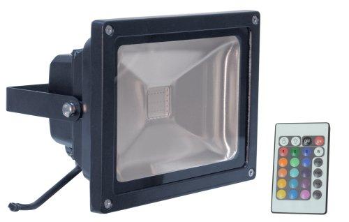 Eagle L330E RGB Strahler mit Fernbedienung (20 Watt) schwarz