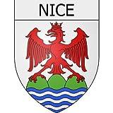 Nice 06 ville Stickers blason autocollant adhésif Taille : 8 cm