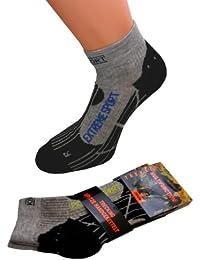 2 Paar Trekkingsocken oder 2 Paar Kurzschaft Trekking Socken Wandersocken Funktionssocken Skisocken Sportsocken Damen Herren 43-46 47-50 Übergrösse