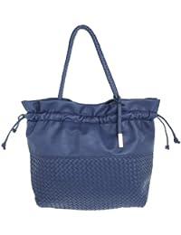 Comma Femmes Cabas Tote bag bleu 83-302-94-5733-BL