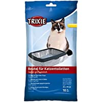 Bulk–Trixie gato basura bandeja, bolsas 4659cm, 6paquetes de 10–60piezas