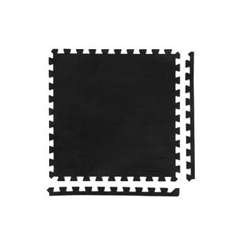 8 x Negro Colchonetas Suelo...