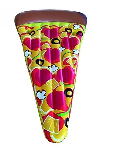 Materassino gonfiabile pizza cm 180 mare spiaggia piscina