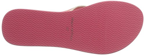 Marc O'Polo 70314031001611 Beach Sandal, Sandales  Bout ouvert femme Rot (rose)